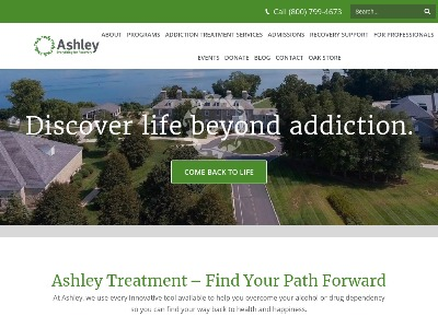 Ashley Addiction Treatment OP/IOP 111 High Street