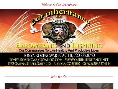 Our Inheritance LLC 2323 South Troy Street