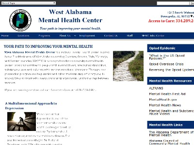 West Alabama Mental Health Center 401 Rodgers Street