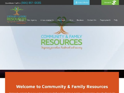 Community And Family Resources 500 Fairmedow Drive