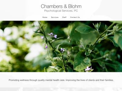 Chambers And Blohm Psych Services 309 North Mandan Street