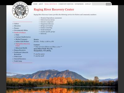 Raging River Recovery Center 9575 Ethan Wade Way SE